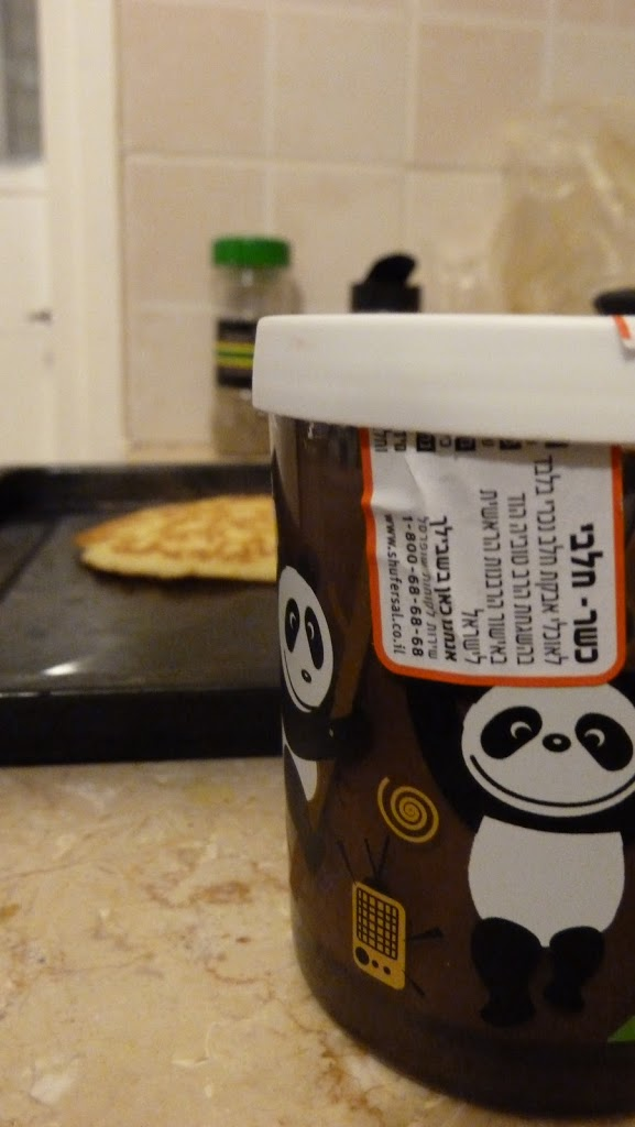 They make panda Nutella. That's all.